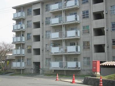 滋賀県営住宅ベランダ取替工事